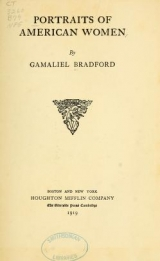 Cover of Portraits of American women
