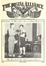 Cover of Postal alliance