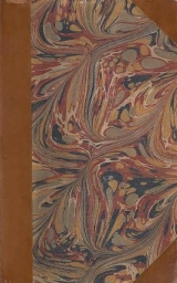 cover of Principles of geology with marbled paper