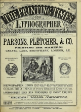 Cover of Printing times and lithographer new ser.:v.16 (1890-1891)