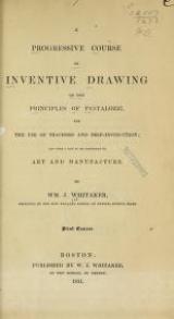 Cover of A progressive course of inventive drawing on the principles of Pestalozzi