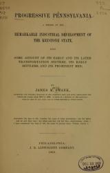 Cover of Progressive Pennsylvania
