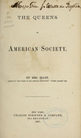 Cover of The queens of American society