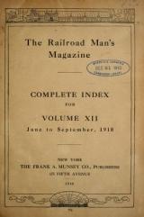 Cover of Railroad man's magazine