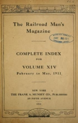 Cover of Railroad man's magazine