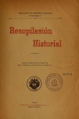 Cover of Recopilación historial