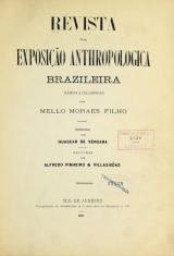Cover of Revista da exposição anthropologica brazileira