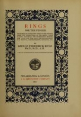 Cover of Rings for the finger
