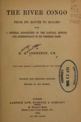 Cover of The River Congo from its mouth to Bólobó