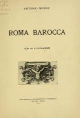 Cover of Roma barocca