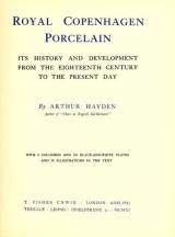 Cover of Royal Copenhagen porcelain