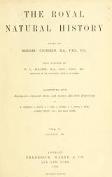 Cover of The royal natural history