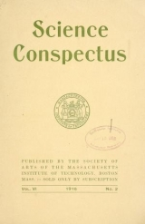 Cover of Science conspectus
