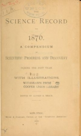 Cover of The Science record