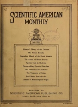 Cover of Scientific American monthly