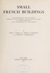 Cover of Small French buildings