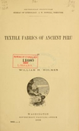 "Cover of ""Smithsonian Institution, Bureau of Ethnology"""