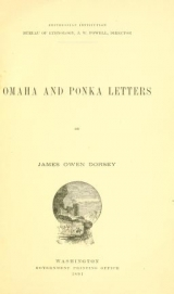 """Cover of """"Smithsonian Institution, Bureau of Ethnology"""""""
