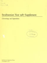 Cover of Smithsonian year ... supplement