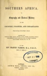 Cover of Southern Africa.