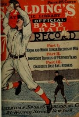 Cover of Spalding's official base ball record