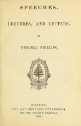 Cover of Speeches, lectures, and letters