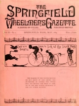Cover of The Springfield wheelmen's gazette