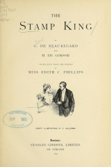 Cover of The stamp king