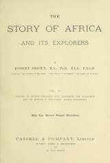 Cover of The story of Africa and its explorers