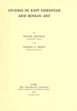 Cover of Studies in East Christian and Roman art