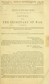 Cover of Survey of the Ohio River