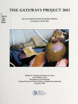Cover of Surveys and excavations from Hare Harbor to Jacques Cartier Bay