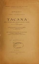 Cover of Tacana