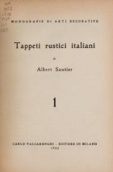 Cover of Tappeti rustici italiani