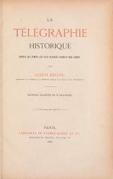 Cover of La tel¬el§raphie historique