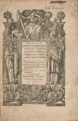 Cover of Theatrum instrumentorum et machinarum Iacobi Bessoni Delphinatis, mathematici ingeniosissimi