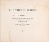Cover of The Thebes bridge