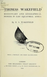Cover of Thomas Wakefield