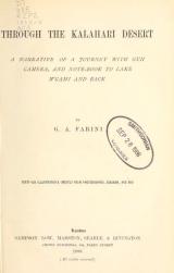 Cover of Through the Kalahari Desert