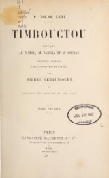 Cover of Timbouctou, voyage au Maroc