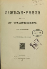 Cover of Timbre-poste et le timbre fiscal