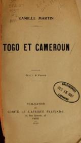 Cover of Togo et Cameroun
