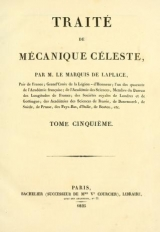 Cover of Traité de mécanique céleste