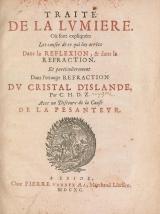 Cover of Traité de la lumière