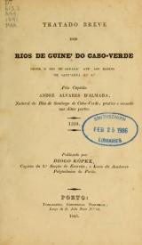 Cover of Tratado breve dos rios de Guine' do Cabo Verde