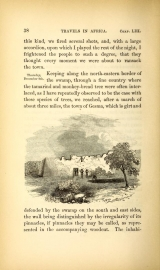 page from Travels and discoveries in North and Central Africa