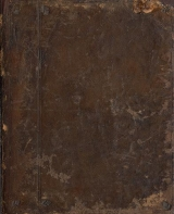 Cover of A treatise of the motion of water and other fluid bodye