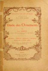Cover of Étude des ornements