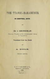 Cover of The Tyandi-Barabudur in central Java