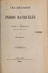 Cover of Una excursión a los indios ranqueles